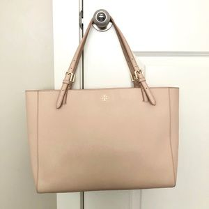 Tory Burch Emerson Large Tote - Blush Pink